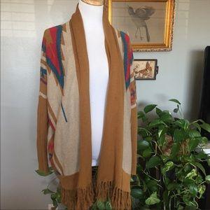 Super cozy Ecote southwest sweater